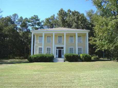 1850 Greek Revival - Williamson, GA (Fried Green Tomatoes