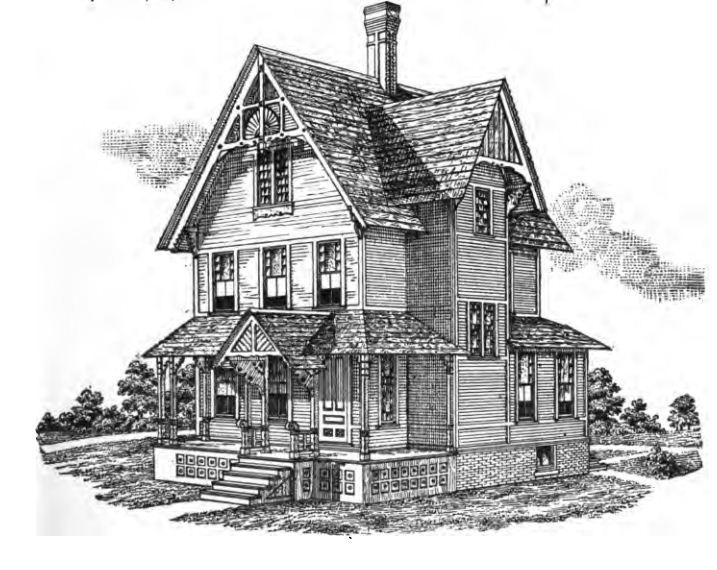 Victorian model homes