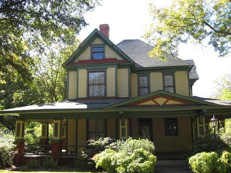 C 1900 Queen Anne Terrell Tx Old House Dreams