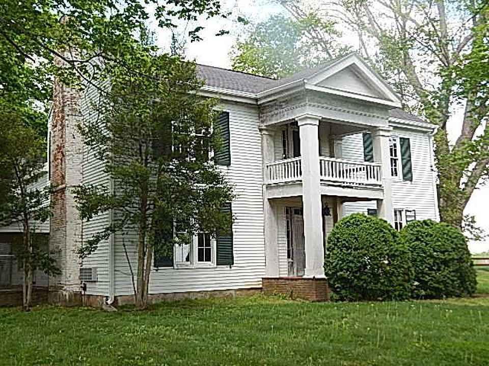 1860 greek revival hopkinsville ky old house dreams. Black Bedroom Furniture Sets. Home Design Ideas