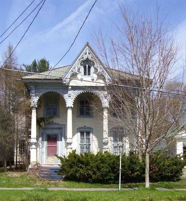 Gothic Revival Homes gothic revival - oxford, ny - $16,500 - old house dreams
