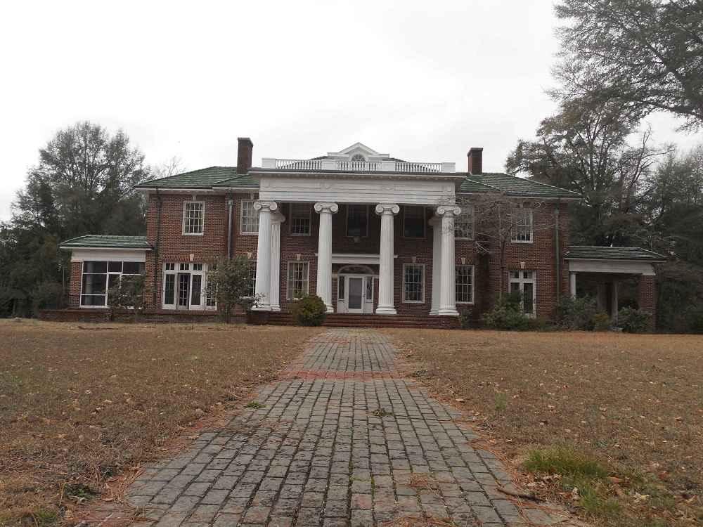 1925 classical revival hamlet nc old house dreams for Carolina house
