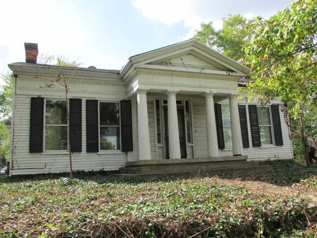1847 greek revival dupont in old house dreams for Revival home