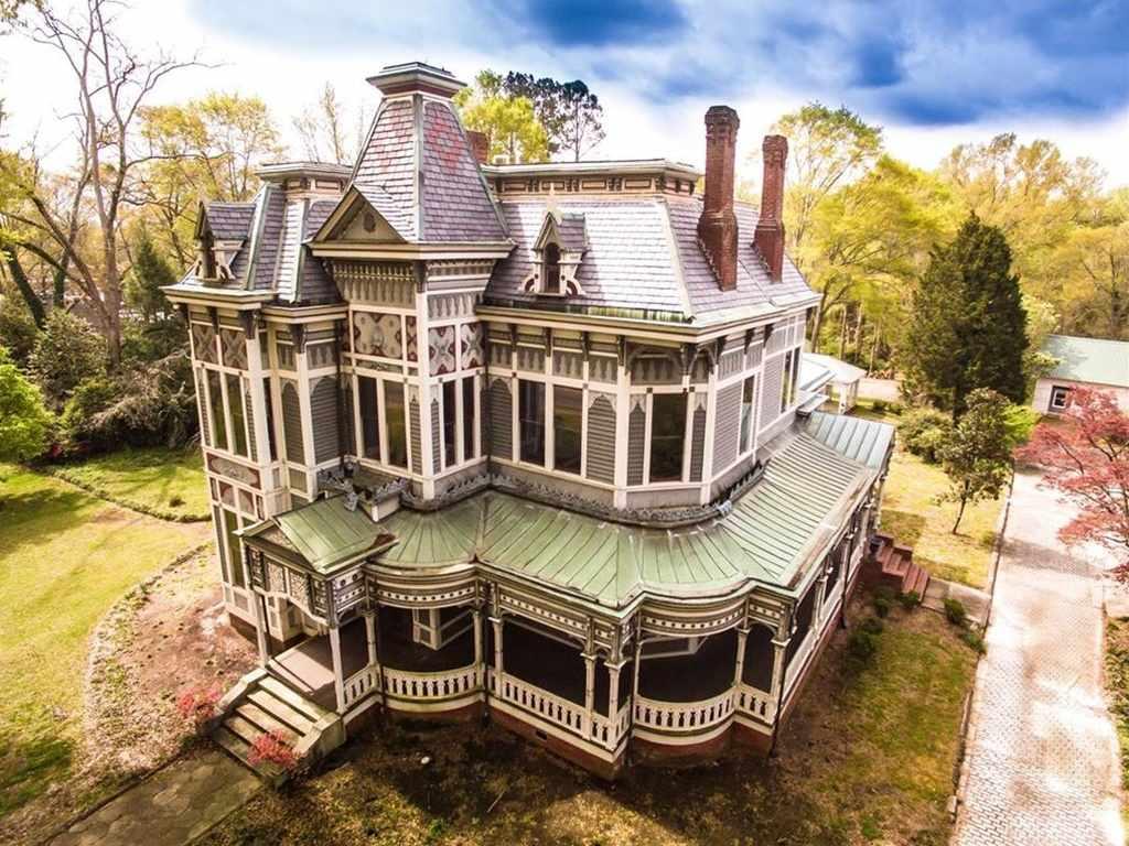 1842 stick victorian newnan ga old house dreams for Home builders in newnan ga