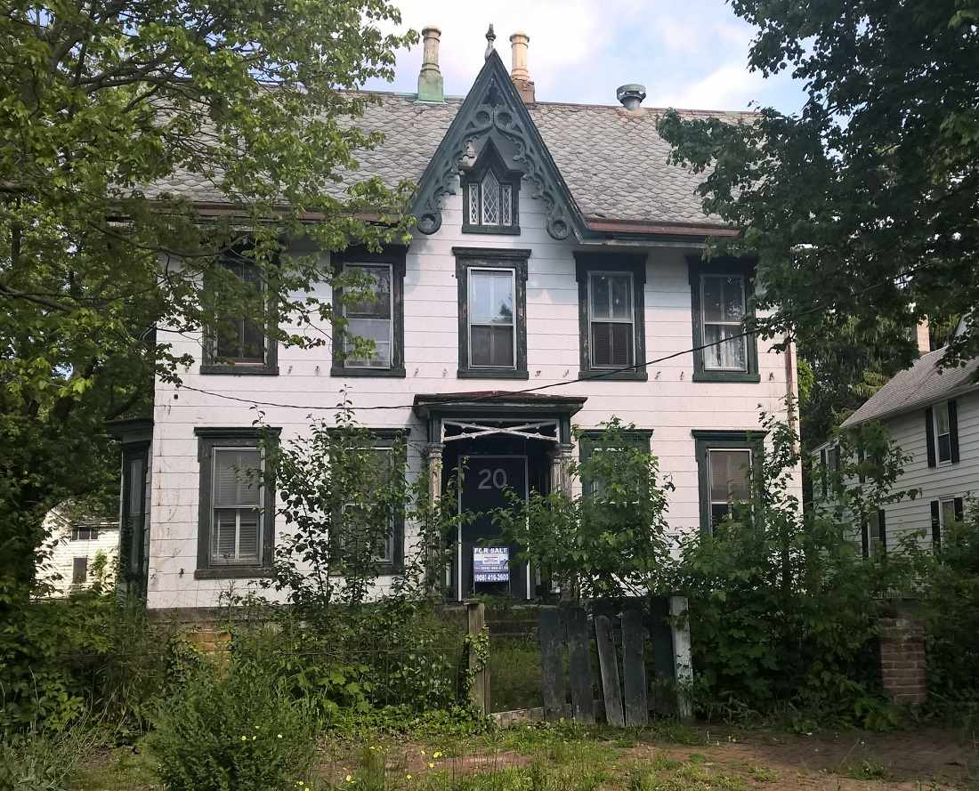Gothic revival salem nj old house dreams for Gothic revival homes for sale