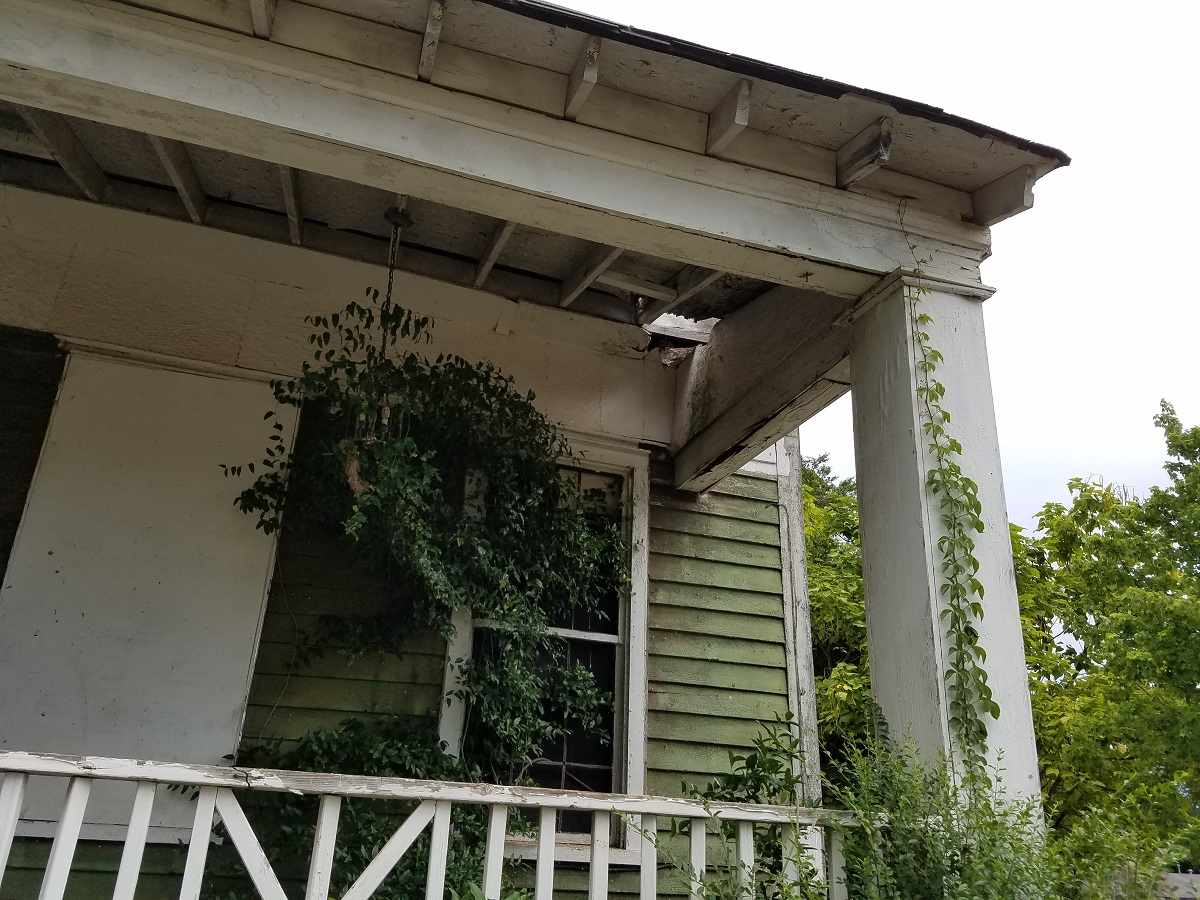 C 1840 Greek Revival Griffin Ga Lost By Fire Old