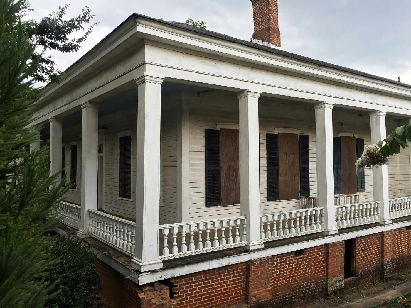 C 1850 1855 greek revival griffin ga old house dreams for Revival home