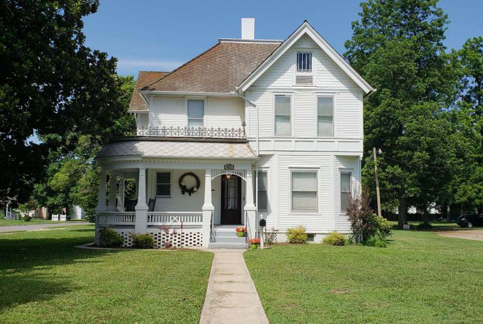 C 1903 Queen Anne Sikeston Mo Old House Dreams