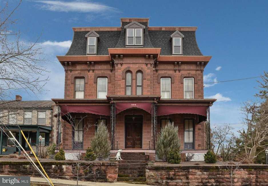 1876 Second Empire In Schaefferstown Pennsylvania