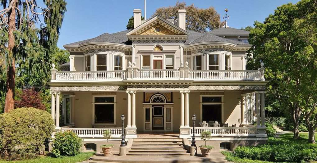 1885 Fennwood Estate In Atherton California