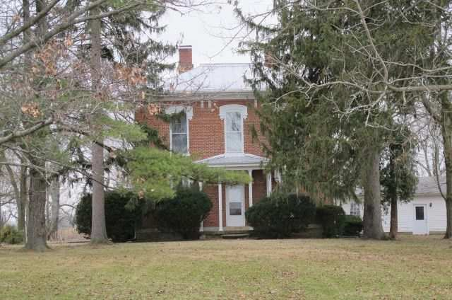 Indiana 1870 Italianate Farmhouse On 40 acres