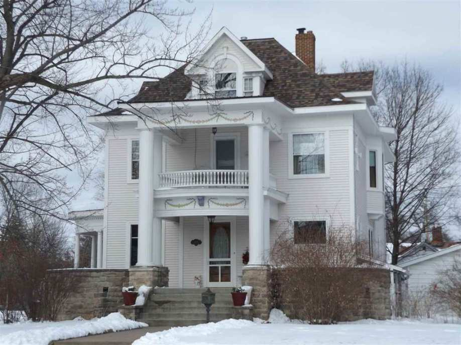 1906 Classical Revival Stevens Point Wi George F