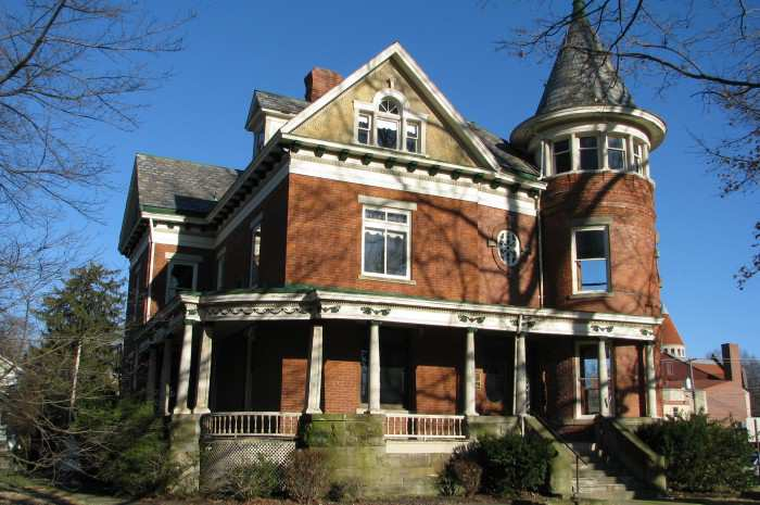 1868 Historic Bosworth-Biszantz House In Marietta Ohio