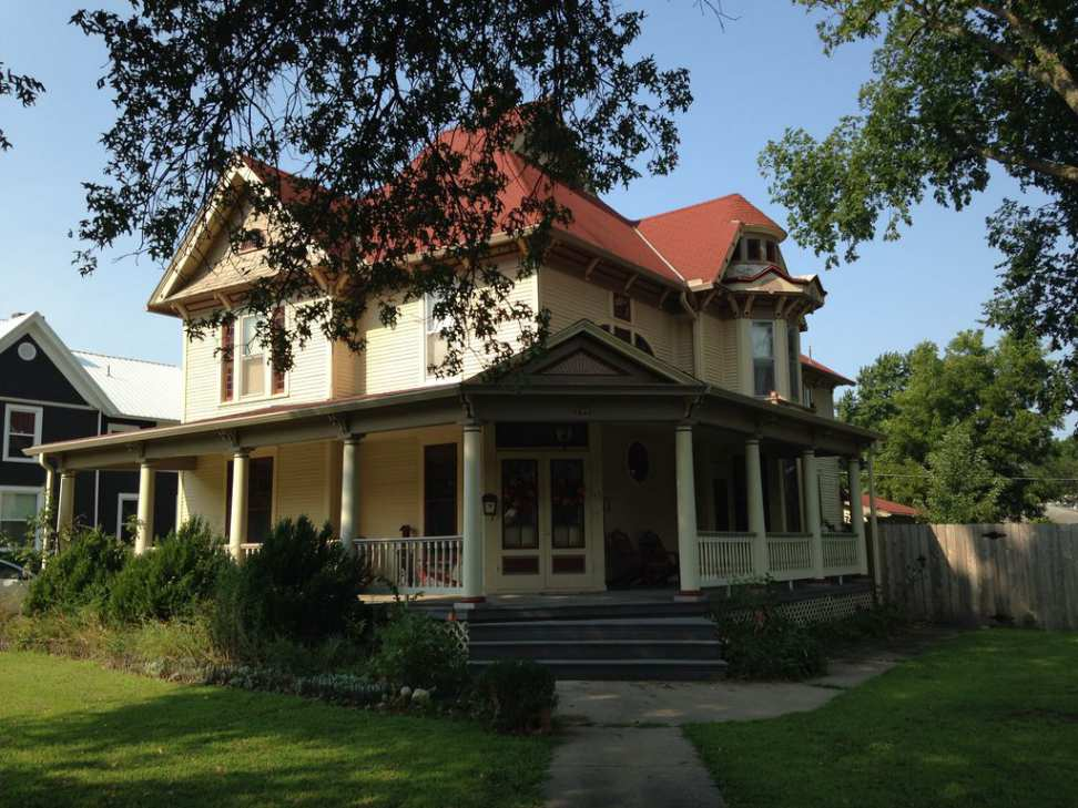 1890 Queen Anne Osage City Ks Old House Dreams