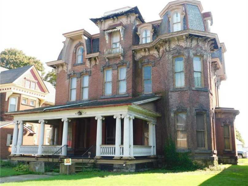 1881 Second Empire Greenville Pa Old House Dreams