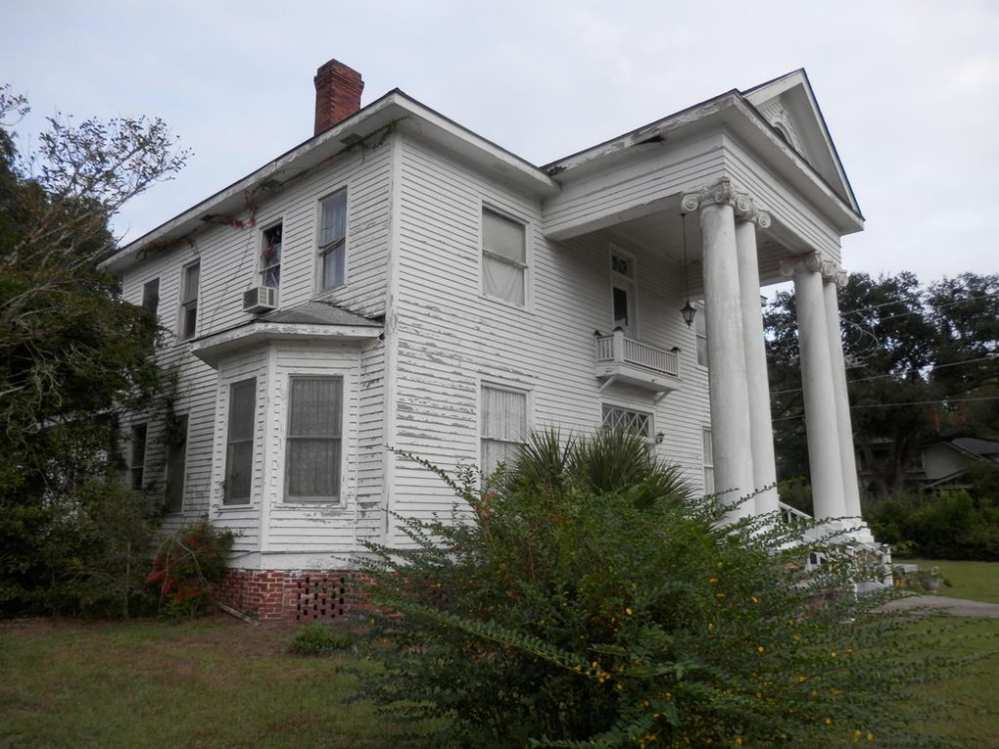1911 Classical Revival Varnville Sc Old House Dreams