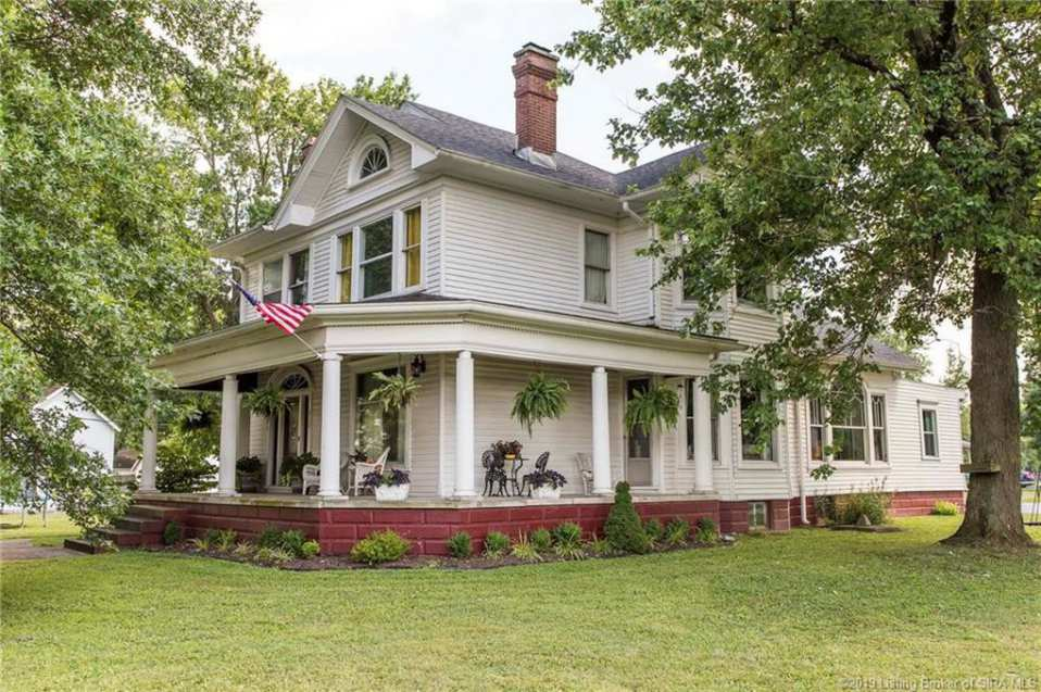Old Houses for sale in Indiana - Old House Dreams