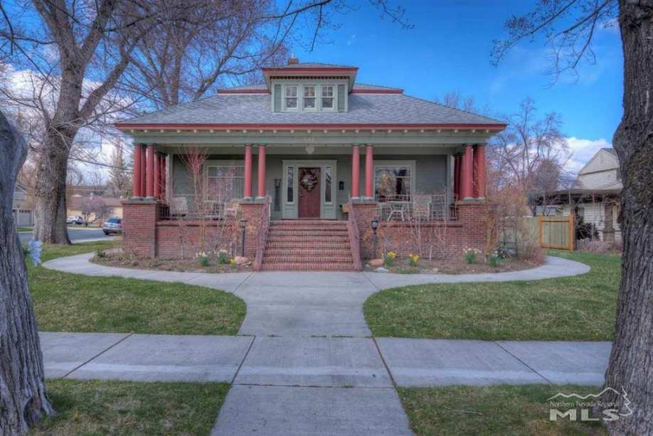 1929 Craftsman In Carson City Nv Old House Dreams